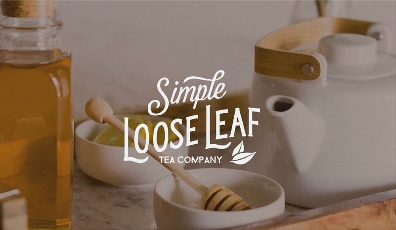 Simple Loose Leaf tea box