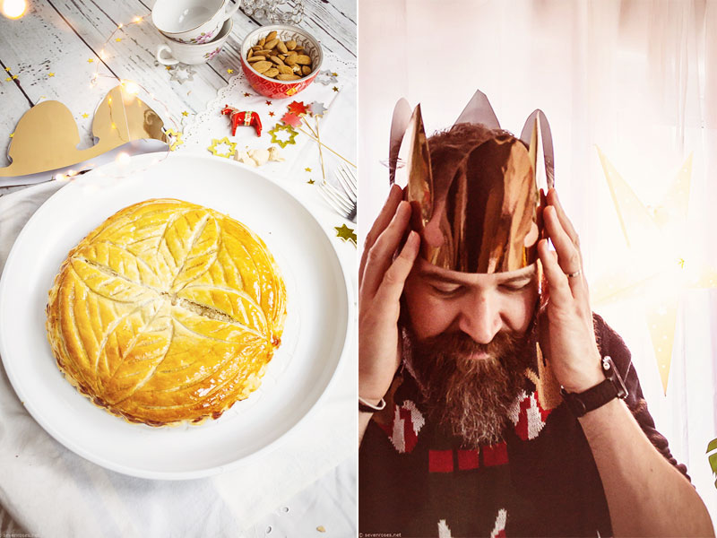 Vegan Frangipani tart: easy Galette des Rois ♕