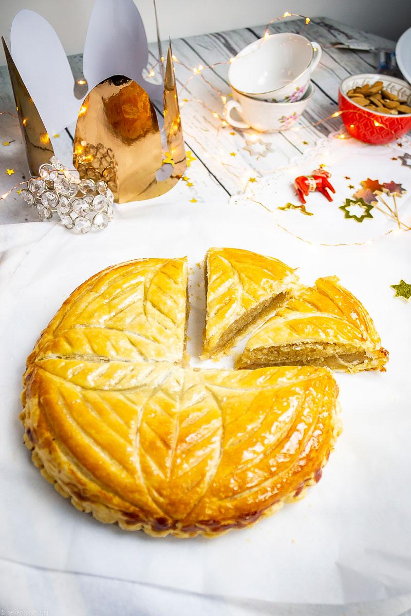 Vegan Frangipani tart - Vegan Galette des Rois
