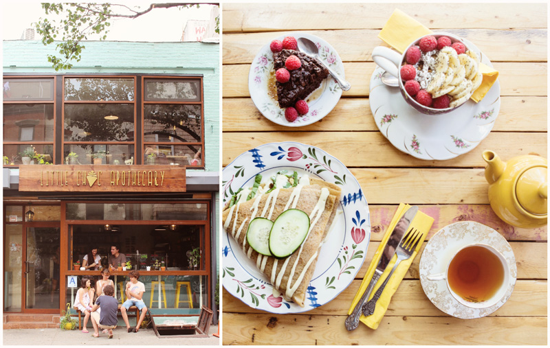 Best Vegan-friendly restaurants in NYC: Little Choc Apothecary
