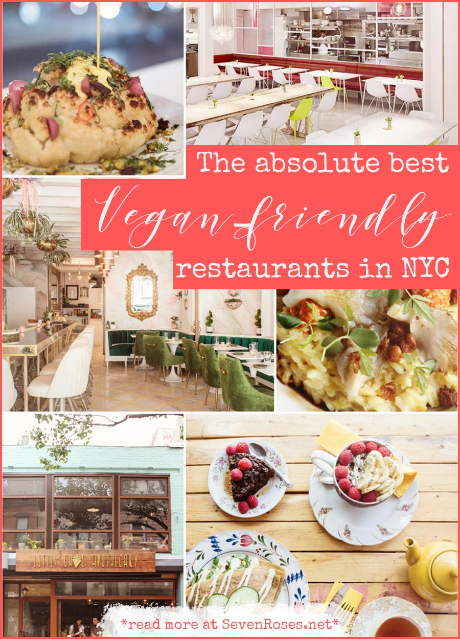 The Absolute Best Vegan-Friendly Restaurants in NYC