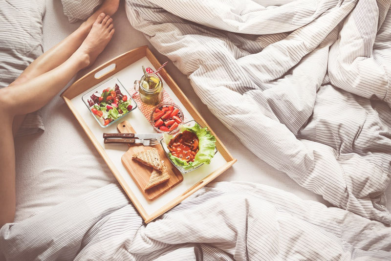 How to sleep better at night: Vegan diet and digestion