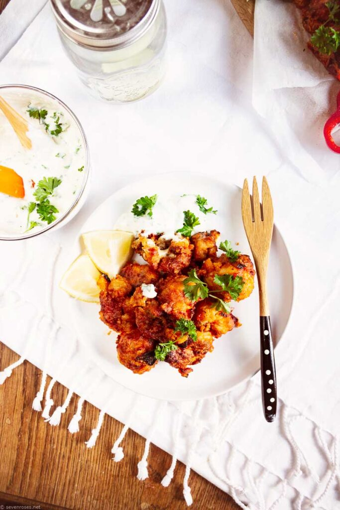 Low-Fat Buffalo Cauliflower