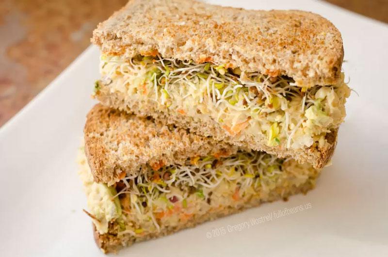 Better than Tuna: Vegan Tuna Salad sandwich
