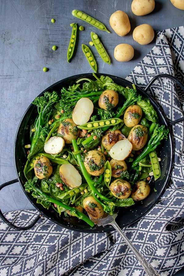 broccoli salad with potatoes
