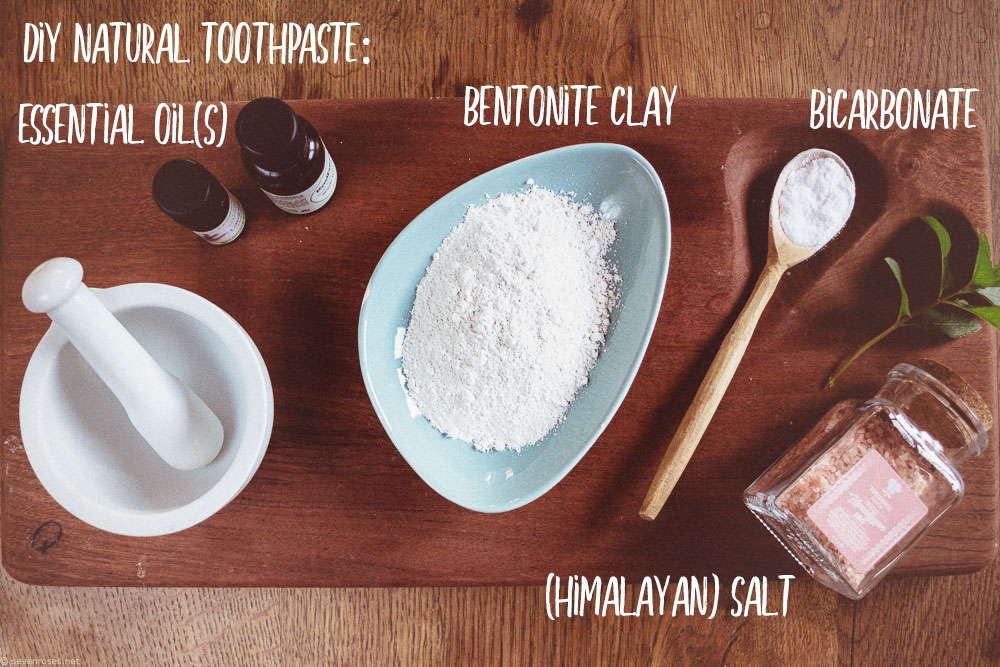 How to make your DIY natural toothpaste - Zero Waste & Vegan