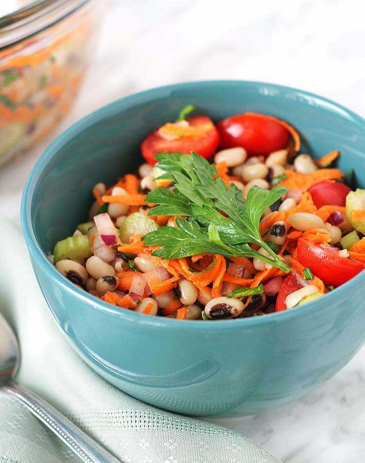 Simple Black-Eyed Pea Salad