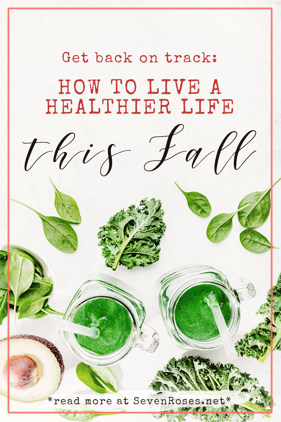 Get back on track: how to live a healthier life this fall