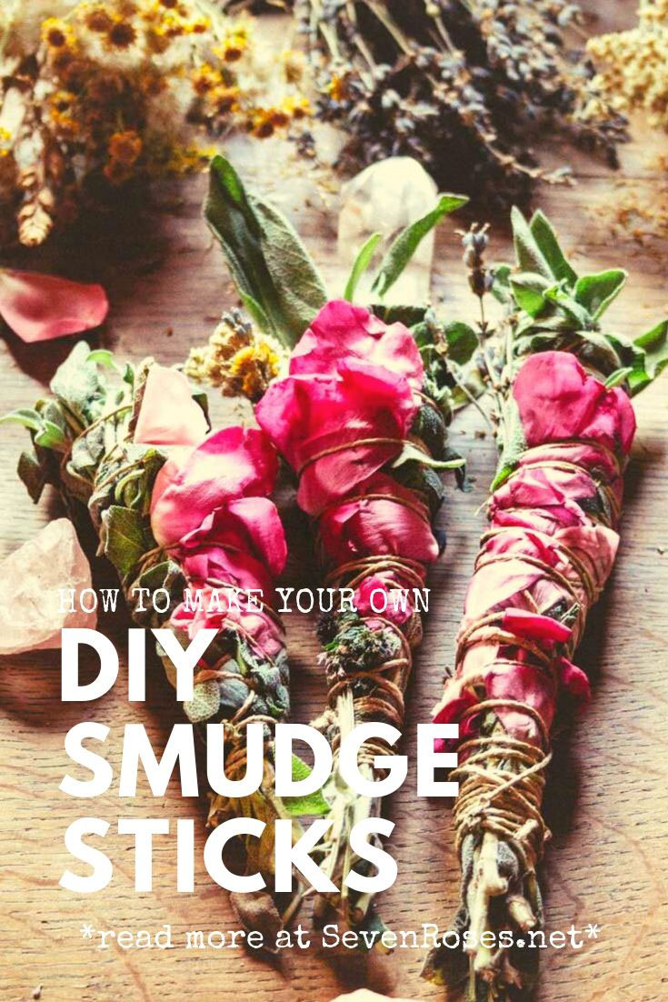 How to make your own DIY Smudge Sticks