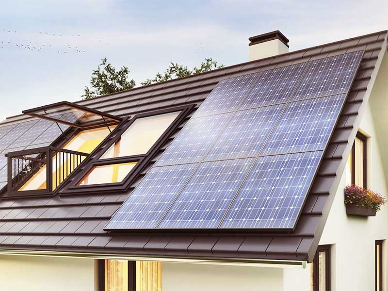The best 5 tips for a greener at home: solar panels