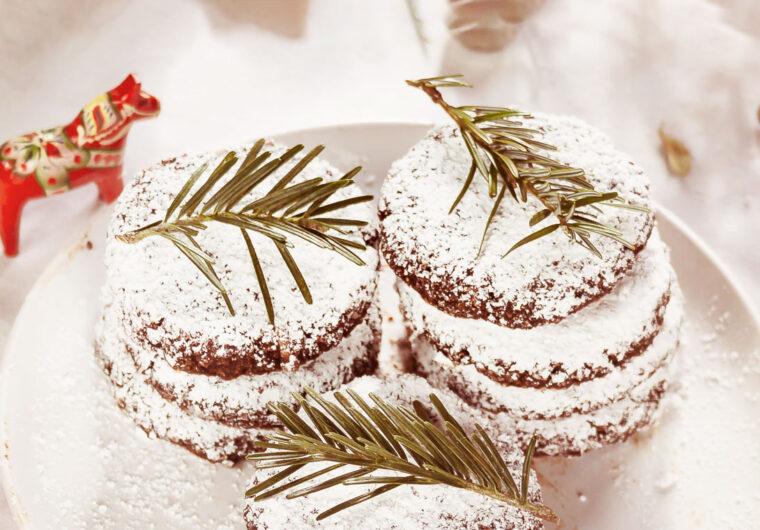 Almond & Hazelnut Snow Cookies