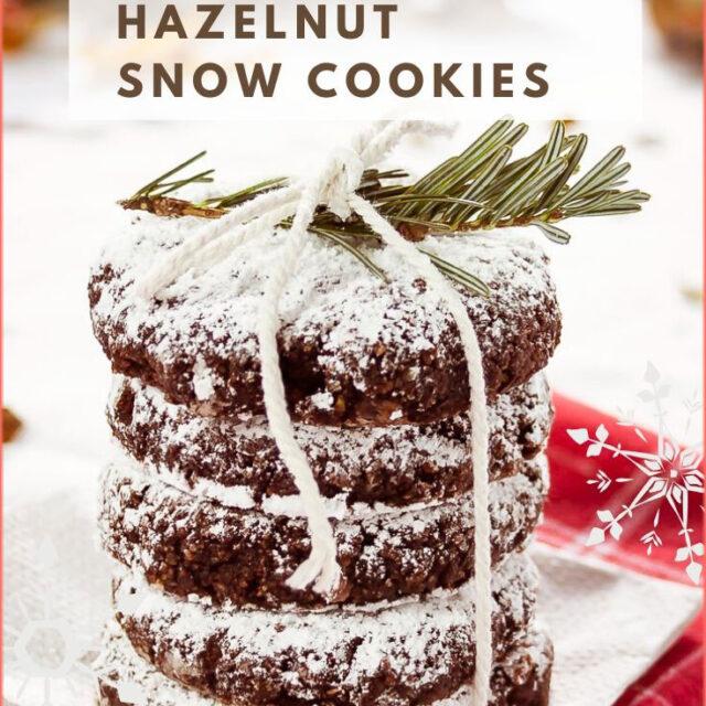 GF Almond & Hazelnut Snow Cookies