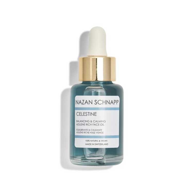Nazan Schnapp Celestine Balancing & Calming Azulene Rich Face Oil