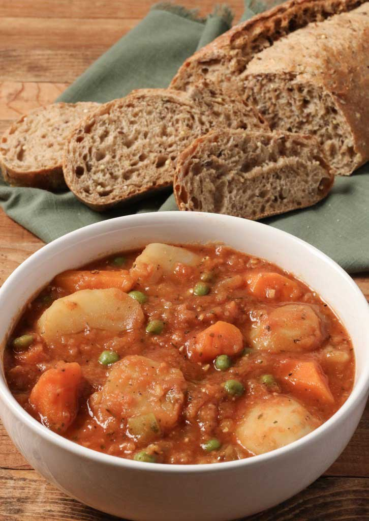 Instant Pot Vegetable Stew at A Plantiful Path