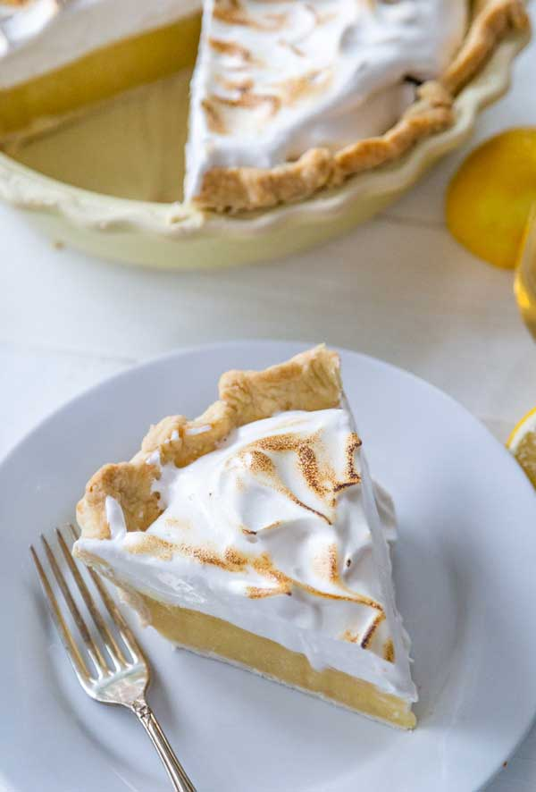 Lemon Meringue Pie at Veganosity (