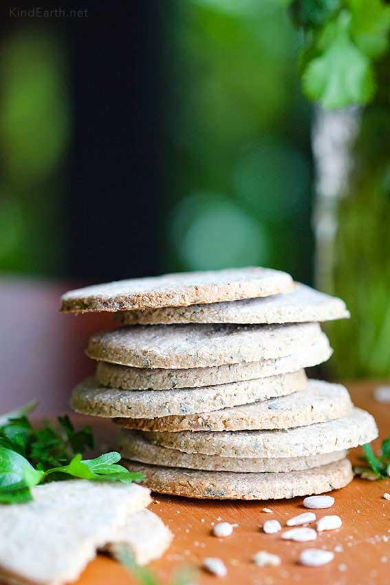Scottish Oatcake Recipe (gluten-free oats, sunflower seed)