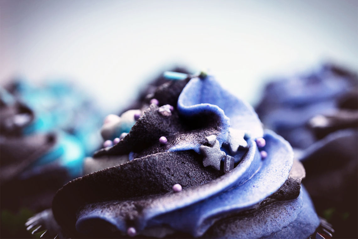10 Vegan BLUE recipes to start off the year and banish Winter blues