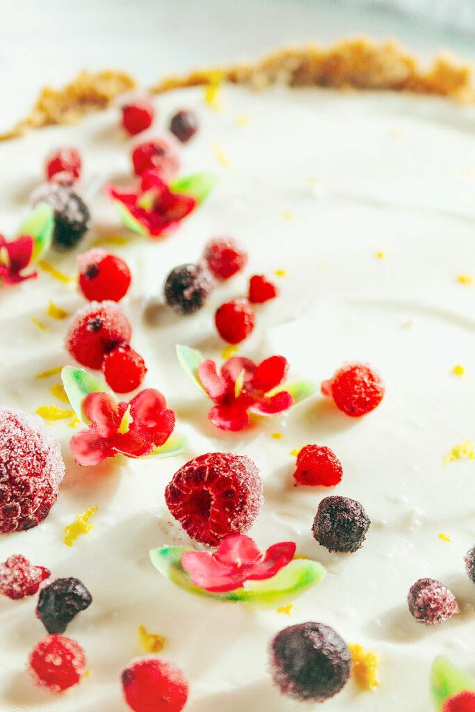 No-bake, easy Vegan cheesecake