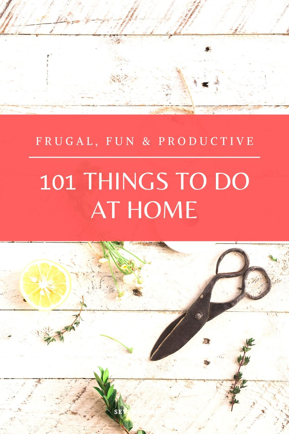 101 things to do at home