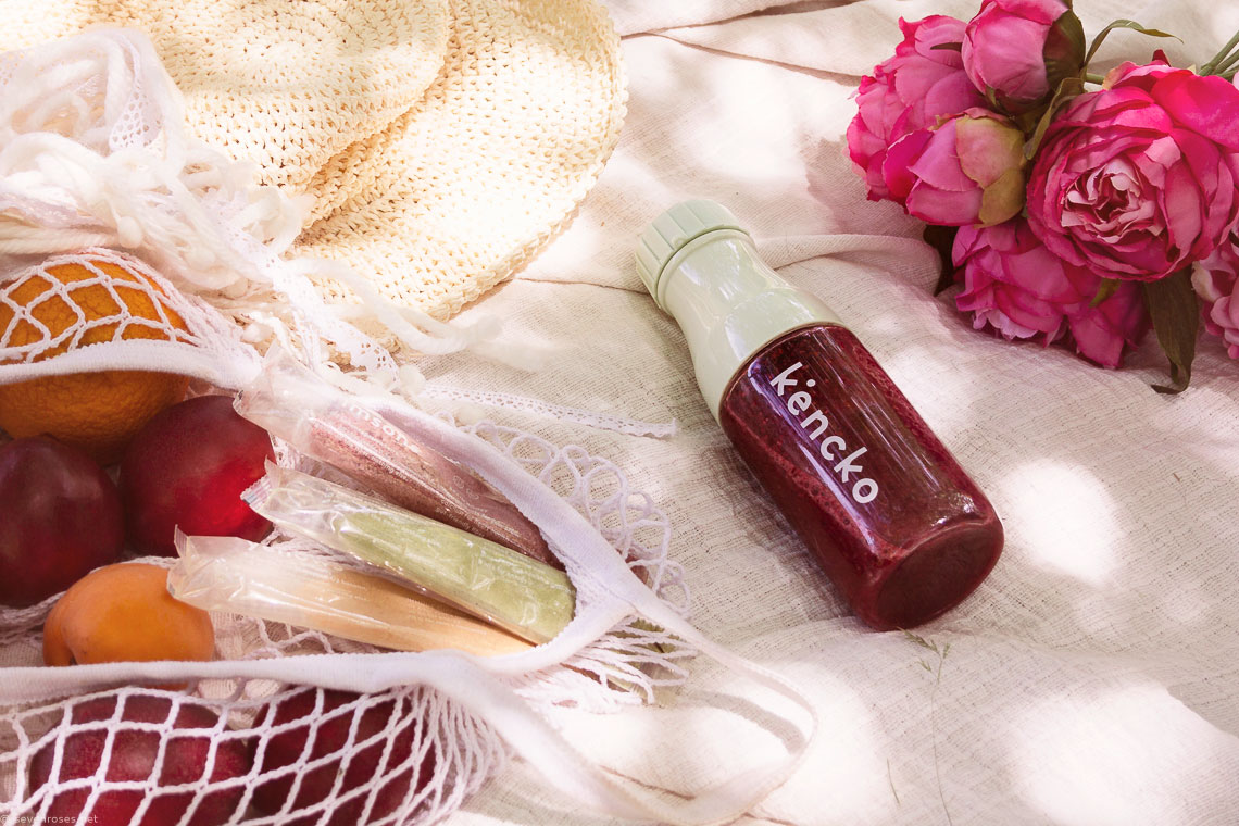 Portable instant smoothies by Kencko: nutrient-packed smoothies for healthy drinks on the go