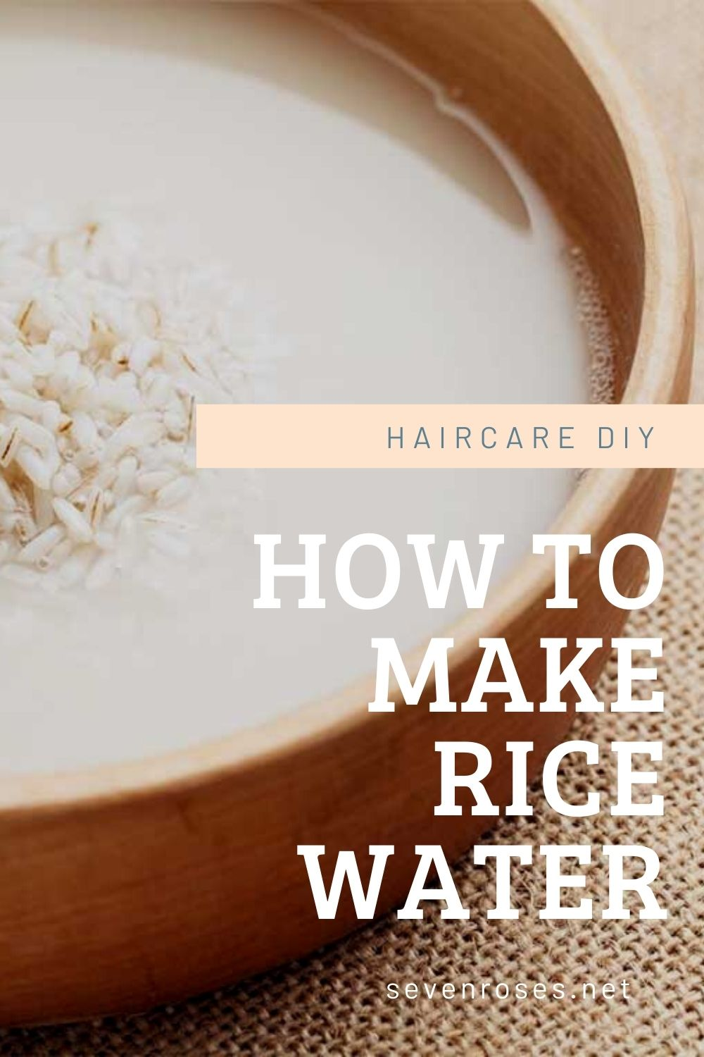 Haircare DIY: How to make rice water