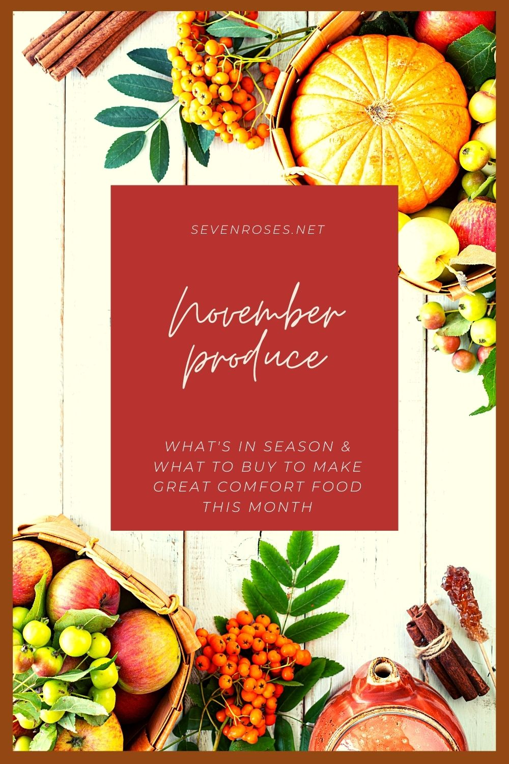 November: what produce is in season?