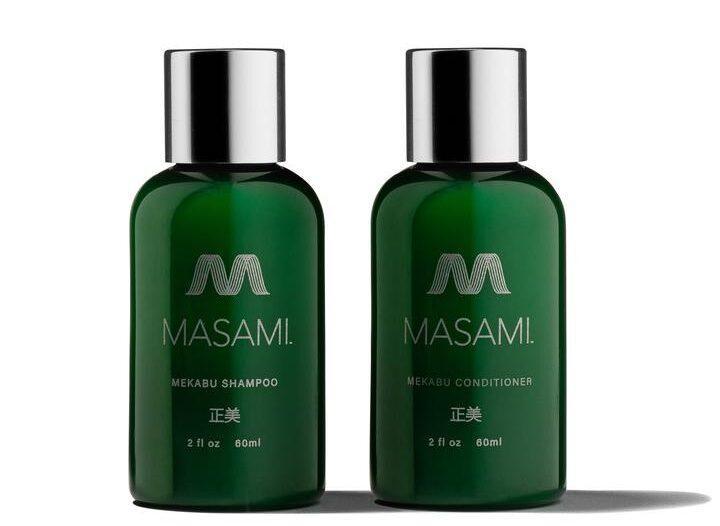 Masami TRAVEL SIZE SHAMPOO AND CONDITIONER
