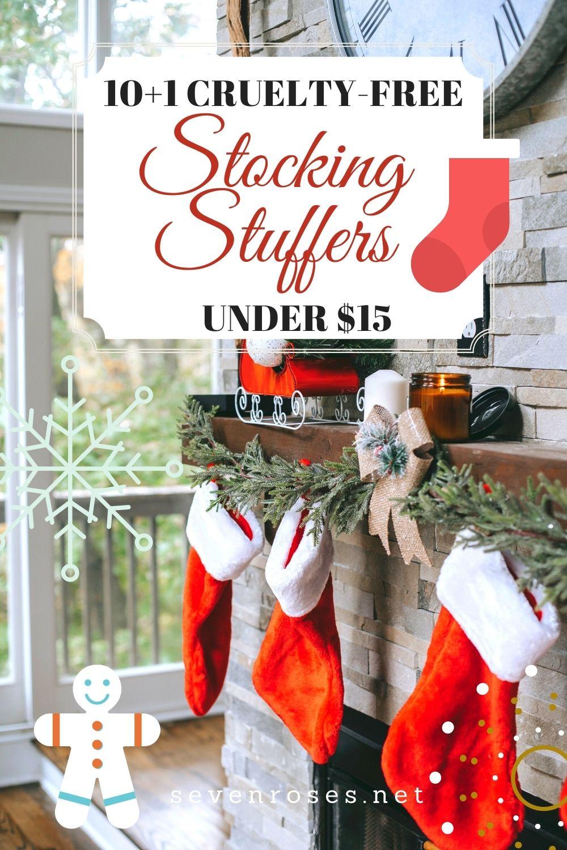 Top 10+1 cruelty-free stocking stuffers under $15